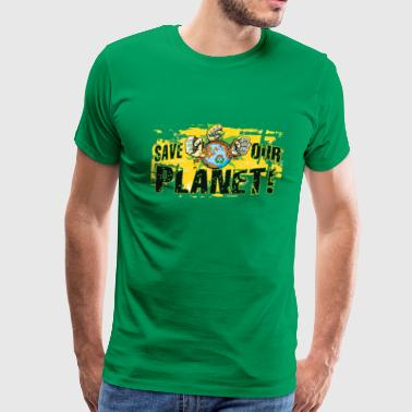 Save Our Planet - Our Earth - Men's Premium T-Shirt
