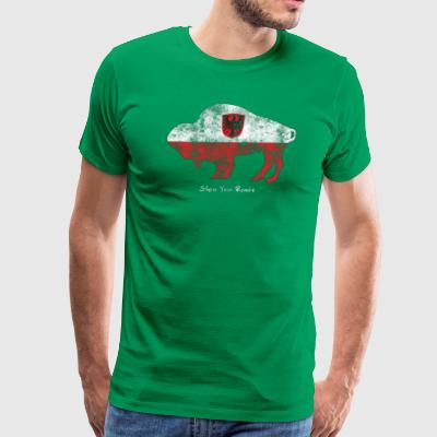 Buffalo Roots Polish T shirt - Men's Premium T-Shirt