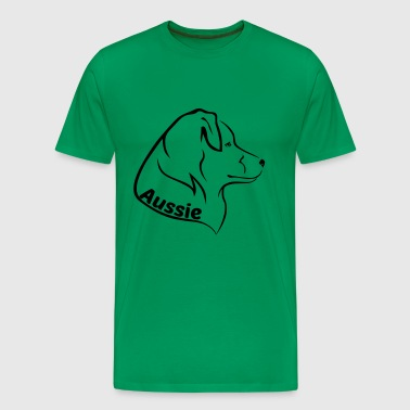 ✰ Aussie Head ✰ - Men's Premium T-Shirt