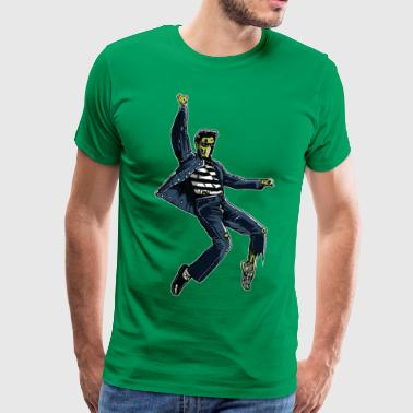 Zombie King - Men's Premium T-Shirt