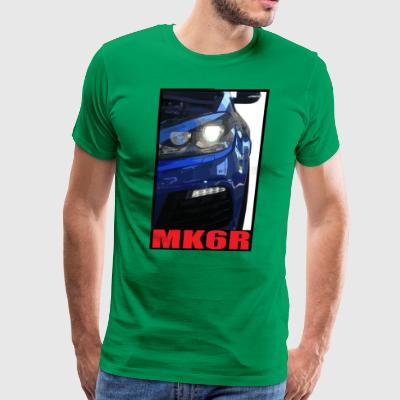 Golf R MK6 Headlight - Men's Premium T-Shirt
