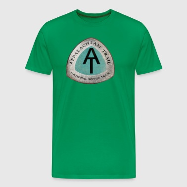 Appalachian Trail AT Trail Vintage Logo - Men's Premium T-Shirt