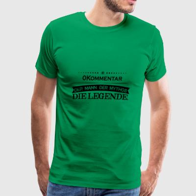 Mythos Legende Vorname Datensatz 395 - Men's Premium T-Shirt