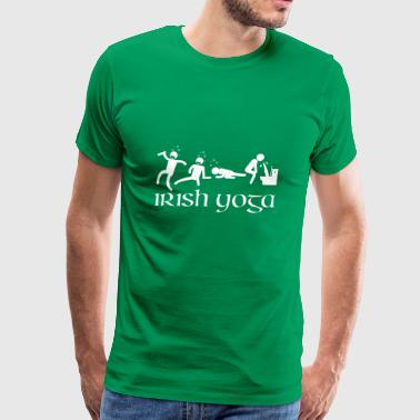 Irish Yoga Saint Patricks Day - Men's Premium T-Shirt
