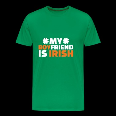 My Boyfriend Is Irish - Men's Premium T-Shirt