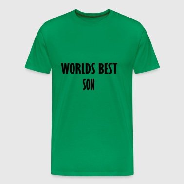 worlds best son - Men's Premium T-Shirt