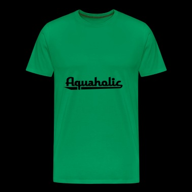 2541614 15910338 aquaholic - Men's Premium T-Shirt