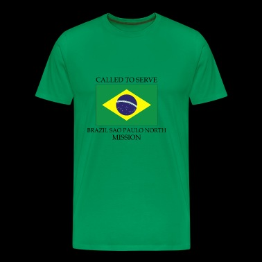 Brazil Sao Paulo North LDS Mission Called to Ser - Men's Premium T-Shirt