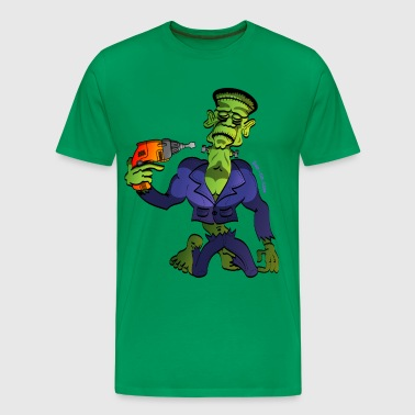 Franky Says Goodbye - Men's Premium T-Shirt