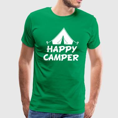 happy camper - Men's Premium T-Shirt