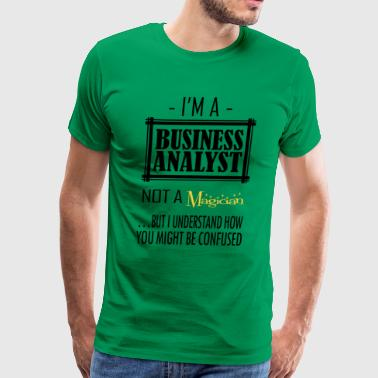 Business Analyst - Men's Premium T-Shirt