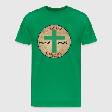 Jesus World Wide - Men's Premium T-Shirt