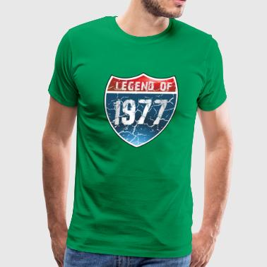 Legend Of 1977 - Men's Premium T-Shirt