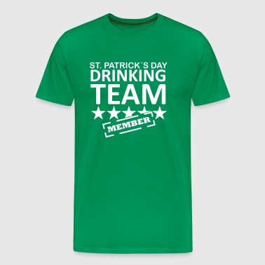 st. patrick´s day drinking team member - Men's Premium T-Shirt
