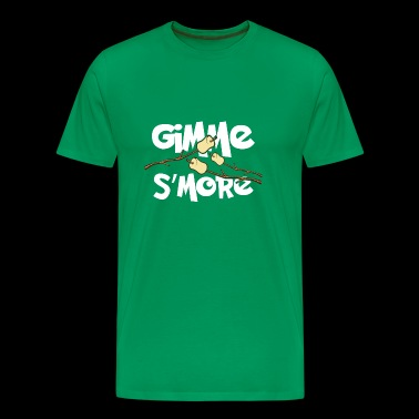 Gimme S'more Funny Roasting Marshmallows T-Shirt - Men's Premium T-Shirt