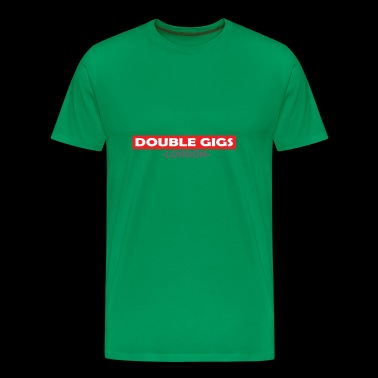 DOUBLE GIGS LONDON 1 - Men's Premium T-Shirt