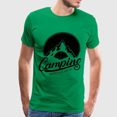 camping Going to the Mountains is going home - Men's Premium T-Shirt