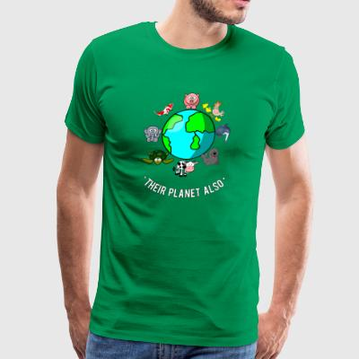 Animals have Rights - Men's Premium T-Shirt