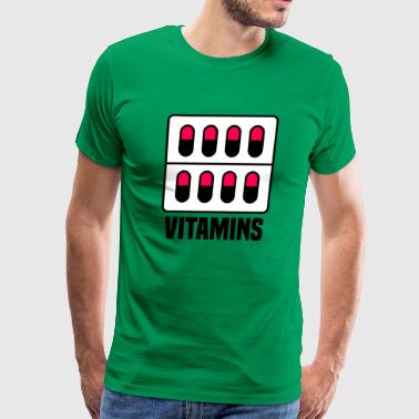 Vitamins - Men's Premium T-Shirt