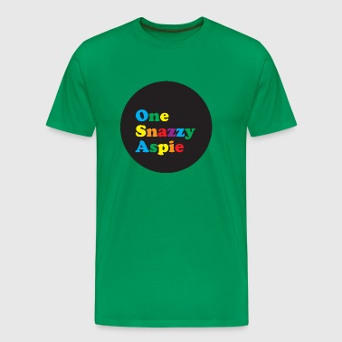 One Snazzy Aspie - Men's Premium T-Shirt
