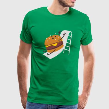 Slider Burger - Men's Premium T-Shirt