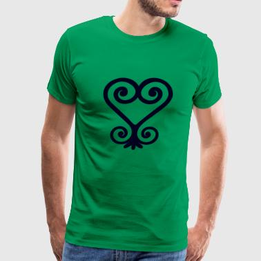 Sankofa - Symbol of positive reversion - Men's Premium T-Shirt