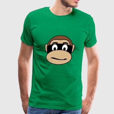 Burglar Monkey - Men's Premium T-Shirt