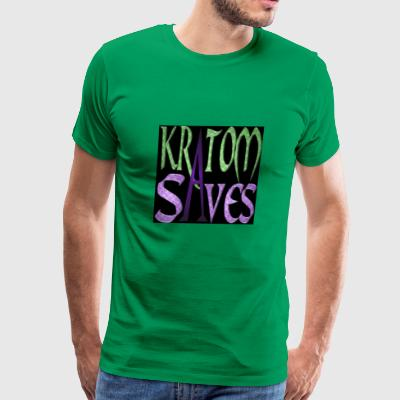 Kratom Saves - Men's Premium T-Shirt