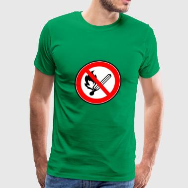 no smoking rauchen raucher1 - Men's Premium T-Shirt