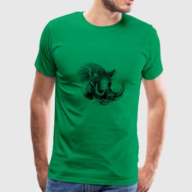 Africa Animal Game Asset Call Mammal 1296665 - Men's Premium T-Shirt