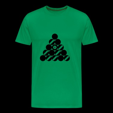 snooker balls - Men's Premium T-Shirt