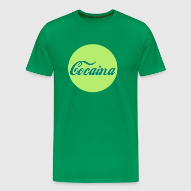 Cocaina Circle - Men's Premium T-Shirt