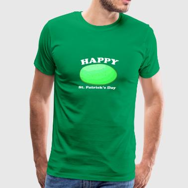 Happy Big Green Potato St Patrick's Day Fun - Men's Premium T-Shirt
