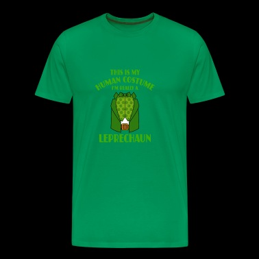 This Is My Human Costume Im A Leprechaun - Men's Premium T-Shirt