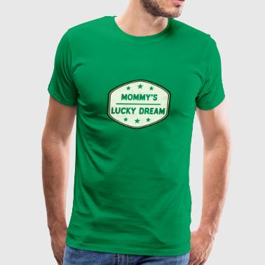 Mommy's Lucky Charm St Patrick's Day - Men's Premium T-Shirt