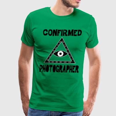 Confirmed Photographer - Men's Premium T-Shirt
