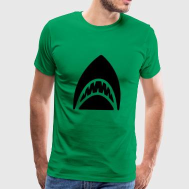 Shark - Shark Fin - Men's Premium T-Shirt