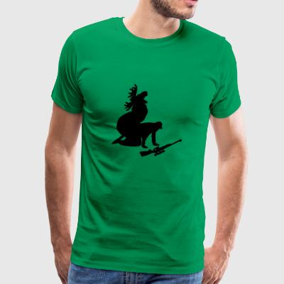 Funny hunting - Men's Premium T-Shirt