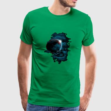 Pirate space ship - Men's Premium T-Shirt