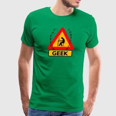 Computer geek - Men's Premium T-Shirt
