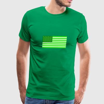AMERICAN GREEN PRIDE - Men's Premium T-Shirt
