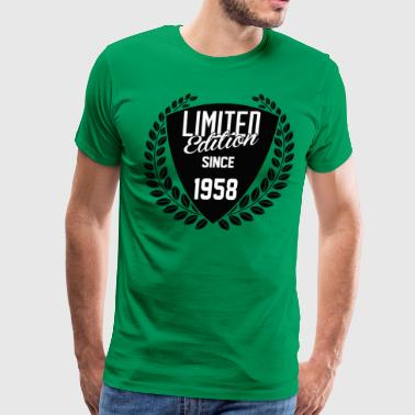 Limited Edition Since 1958 - Men's Premium T-Shirt