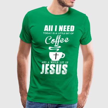 COFFEE JESUS - Men's Premium T-Shirt