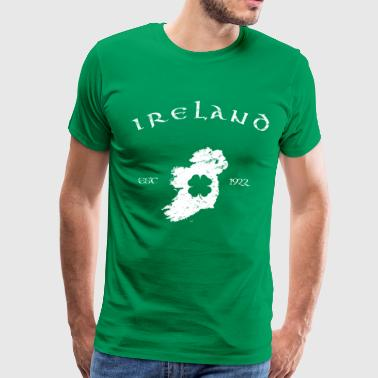 Ireland Vintage Map - Men's Premium T-Shirt