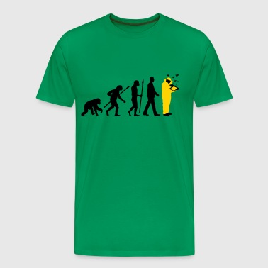 evolution of man beekeeper - Men's Premium T-Shirt