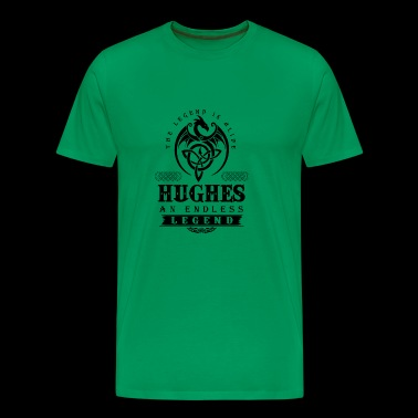 HUGHES - Men's Premium T-Shirt