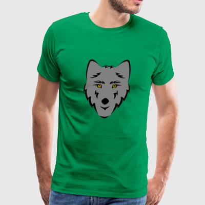 Wolf Grey - Men's Premium T-Shirt