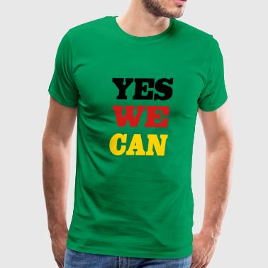 2541614 11883982 yes we can - Men's Premium T-Shirt