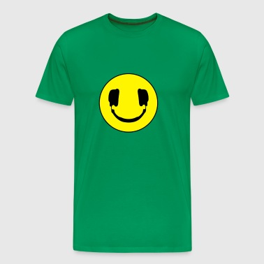 DJ smile - Men's Premium T-Shirt