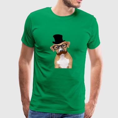smart dog - Men's Premium T-Shirt